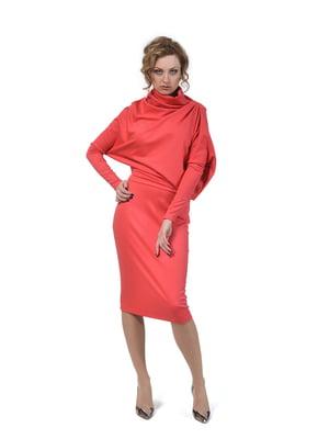 Сукня коралового кольору | 5620388