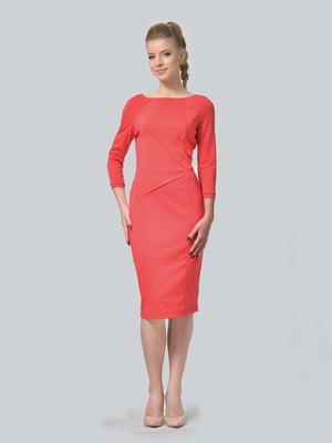 Платье кораллового цвета | 5620484