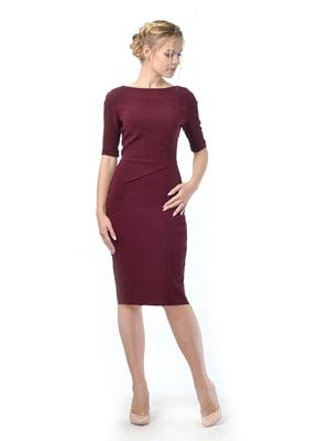 Платье бордовое | 5620489