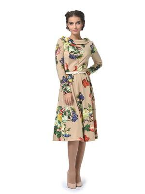 Сукня в квітковий принт | 5620538