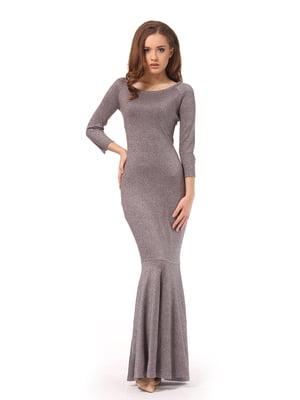 Платье серое   5620552