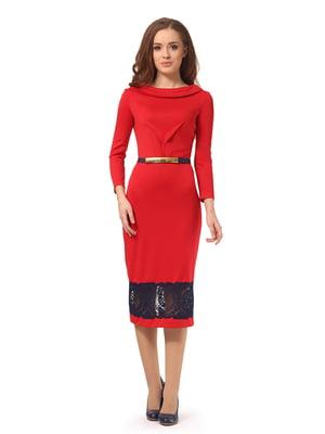 Сукня червоного кольору | 5620561