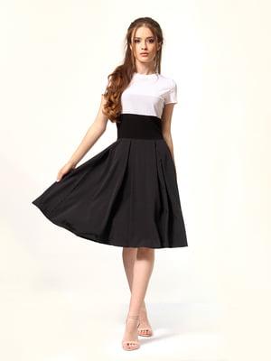 Сукня комбінованого кольору в цяточку | 5620734