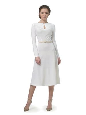 Платье молочного цвета   5620801