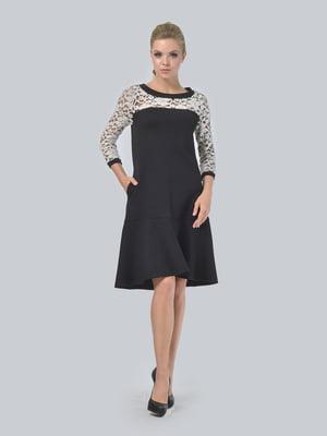 Платье двухцветное   5620873