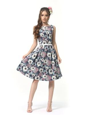 Сукня в квітковий принт | 5621019