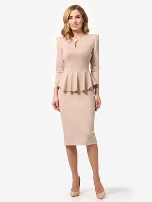 Сукня кольору пудри | 5621263