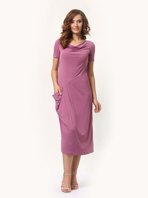 Сукня кольору пудри | 5621470
