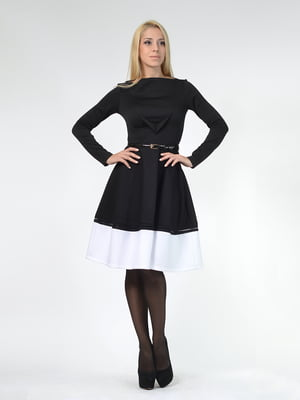 Платье двухцветное | 5620438