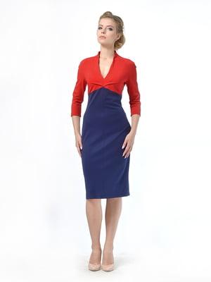 Платье двухцветное | 5620482