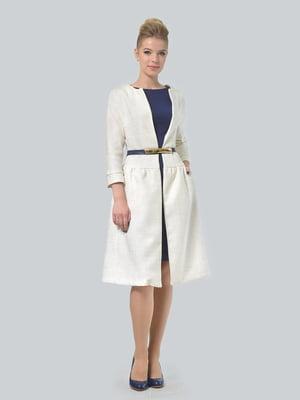 Пальто молочного кольору   5620514