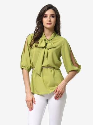 Блуза салатового цвета | 5620745