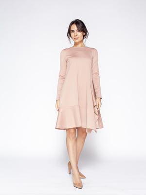 Сукня кольору пудри | 5620775