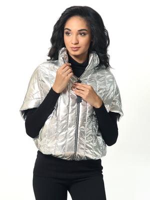 Куртка серебристого цвета | 5620785