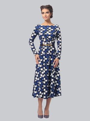 Платье в геометрический принт   5620869