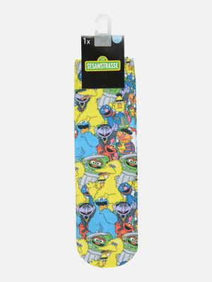 Шкарпетки в принт | 5624515