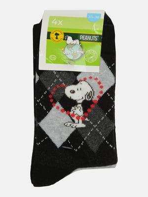 Набір шкарпеток (4 пари) | 5624535
