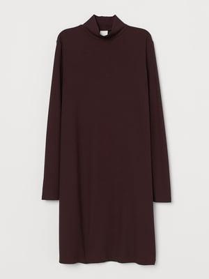 Платье темно-коричневое | 5624582