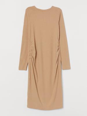 Платье для беременных бежевое | 5624600