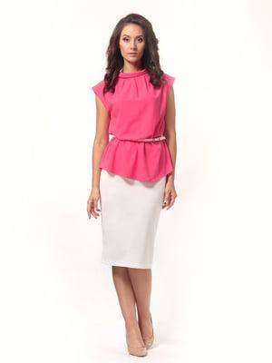 Блуза розового цвета   5621164