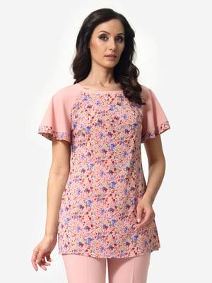 Блуза в цветочный принт   5621166