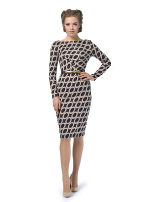 Платье в геометрический принт   5621215