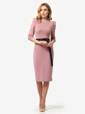 Сукня кольору пудри | 5621258