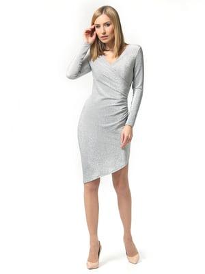 Сукня сріблястого кольору | 5621277