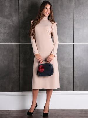 Сукня кольору пудри | 5621437