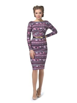 Платье с орнаментом   5621446