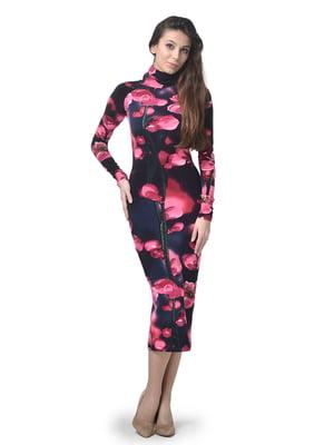 Платье в цветочный принт | 5621447