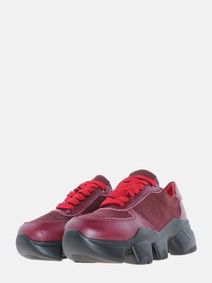 Кросівки бордові | 5621835