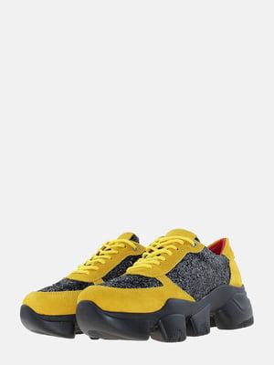 Кросівки гірчичного кольору | 5621836