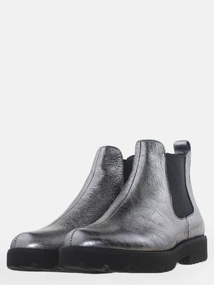 Ботинки стального цвета | 5619005