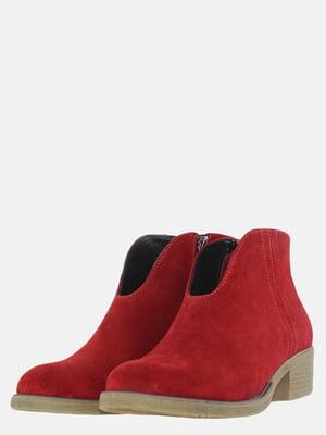 Ботинки красные | 5619006