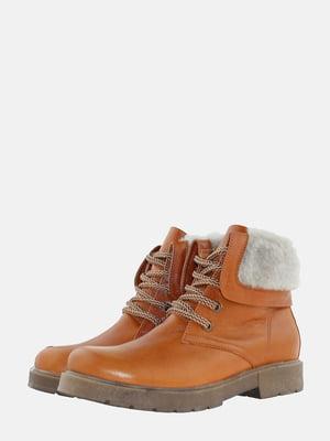 Ботинки цвета охры | 5621813