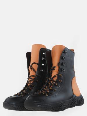 Ботинки черные   5625491