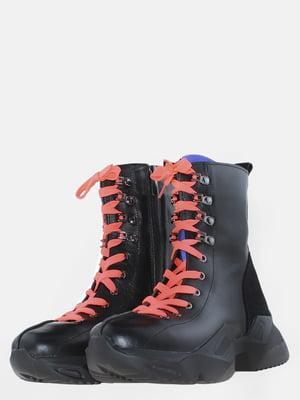 Ботинки черные   5625492