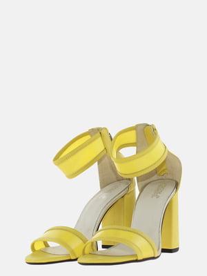 Босоніжки жовті | 5625624