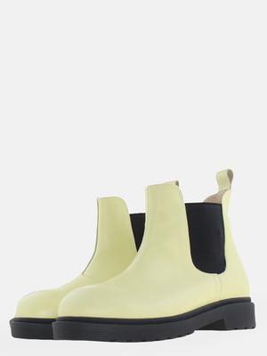 Ботинки желтые   5625632