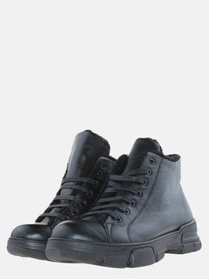 Ботинки черные | 5625643