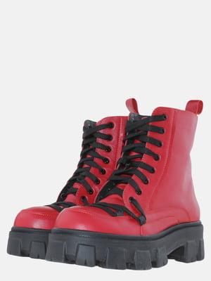 Ботинки красные | 5625647