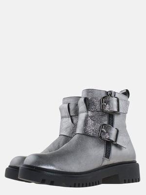 Ботинки стального цвета | 5625658