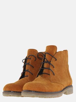 Ботинки цвета охры   5625667