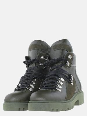 Ботинки цвета хаки | 5625670