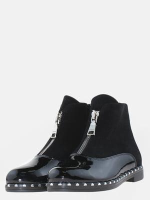 Ботинки черные | 5625689