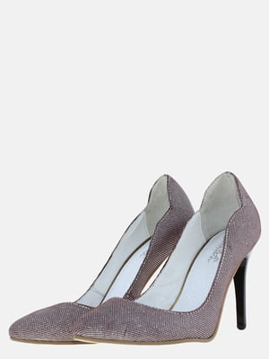 Туфли серебристого цвета | 5625721