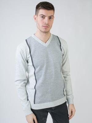 Пуловер сірий | 5618856
