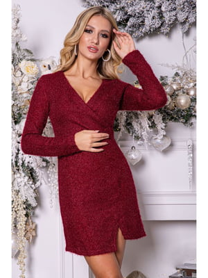 Платье бордовое | 5296029