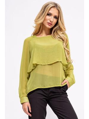 Блуза зеленая | 5298896